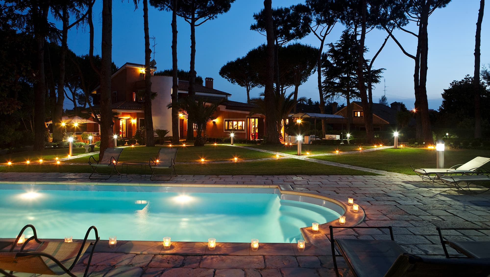 Villa in the heart of Rome