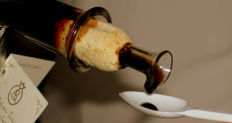 The original Balsamic Vinegar of Modena, Italy