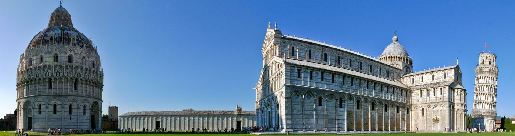 The Leaning Tower of Pisa and the Square of Miracles